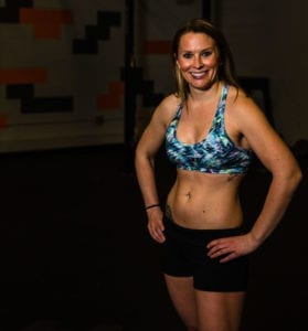 Megg with CrossFit Nutrition