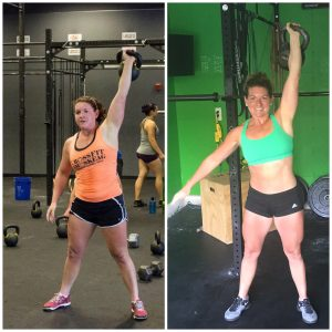 Jen Before and After CrossFit