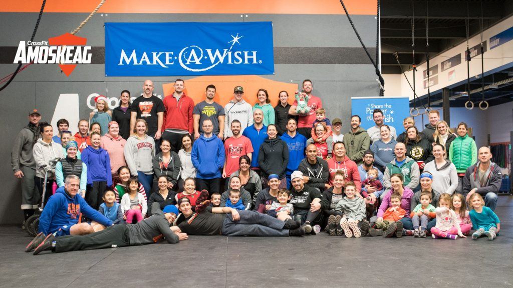 Make A Wish New Hampshire at CrossFit