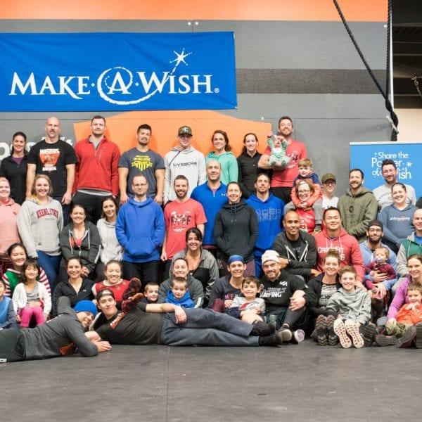 Make A Wish New Hampshire at CrossFit