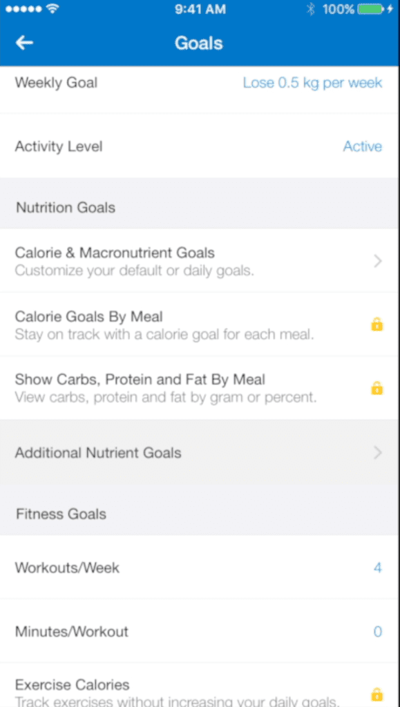 mfp micronutrient goals
