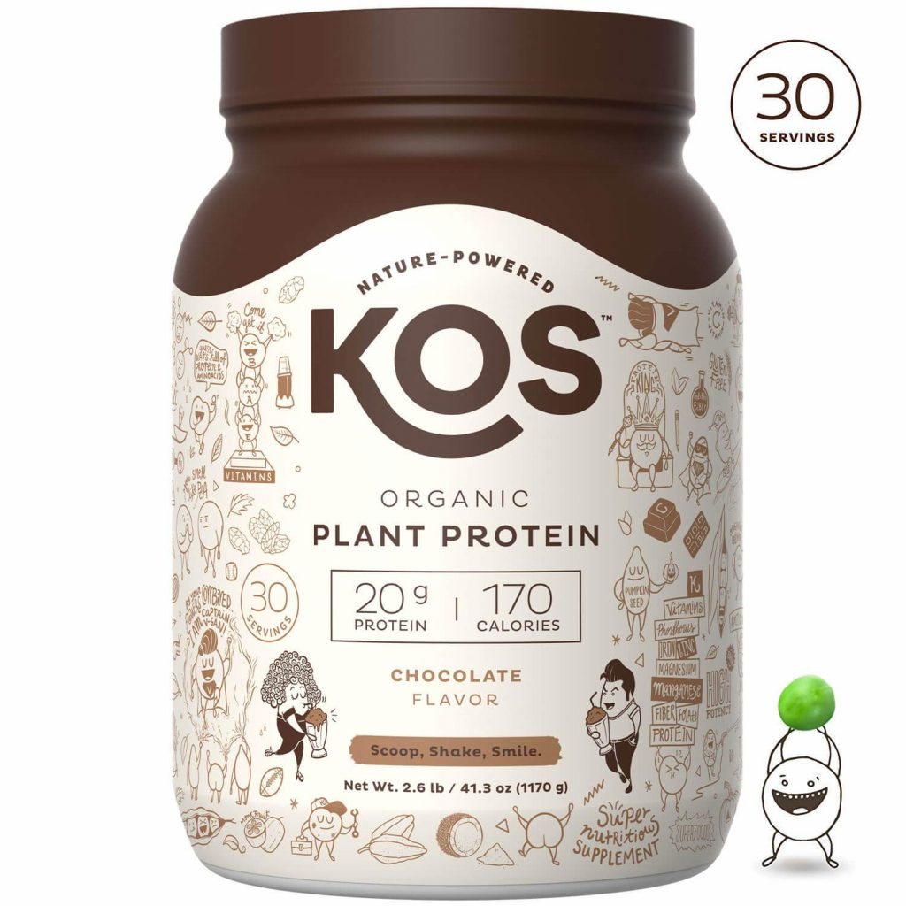 plant based protein from kos
