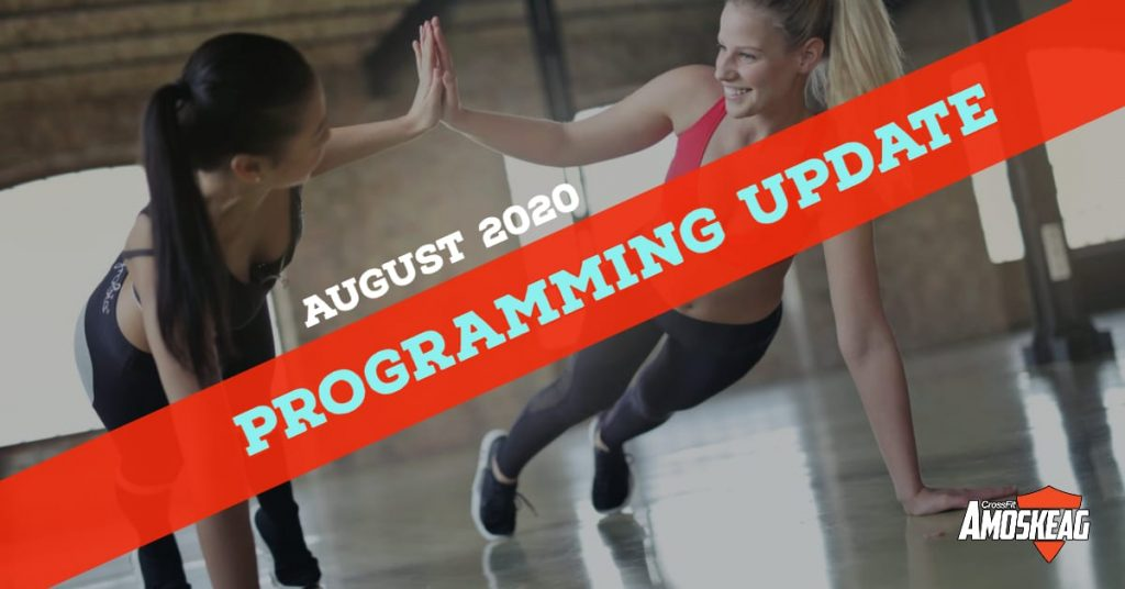 august crossfit programming