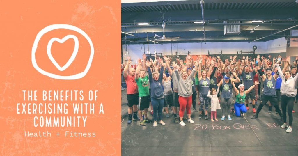 The Benefits of Exercising with a Community
